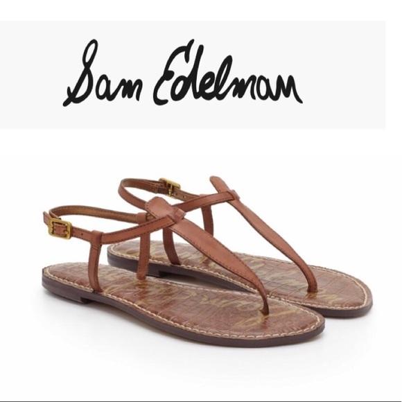 803d3ecea103 Sam Edelman Saddle Gigi Thong Sandals 8.5 NEW